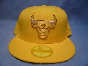 New-Era-59fifty-Chicago-Bulls-Color-Prism-Pack-BRAND-NEW-Fitted-cap-hat-yellow