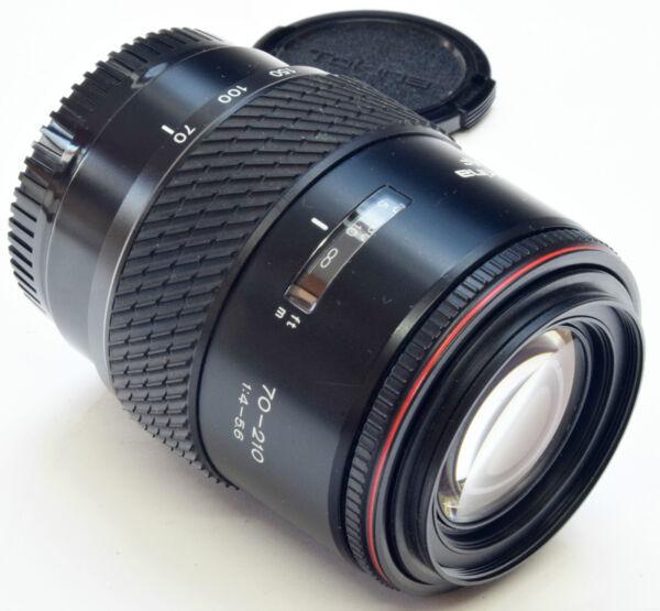 Minolta D'un Tokina Af 70-210mm 4-5.6 - (sony) - All Metal Barrel Lens -