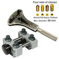 Large Waterproof Watch Case Opener kit - XL Jaxa Wrench #2819 Case Holder #5094
