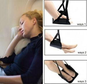 Comfy-Hanger-Travel-Airplane-Footrest-Hammock-Premium-Memory-Foam-Foot-Made-NEW