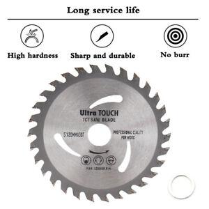 125mm Circular Saw Blade Carbide Tipped 30T Wood Fine Cutting Grinder Disc TCT