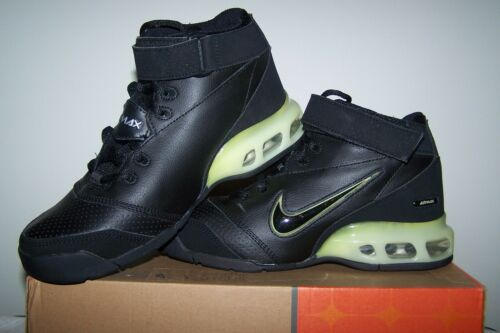 Boy/'s NEW Nike Air Max 180 BB Black Shoes with Black and Silver Trim
