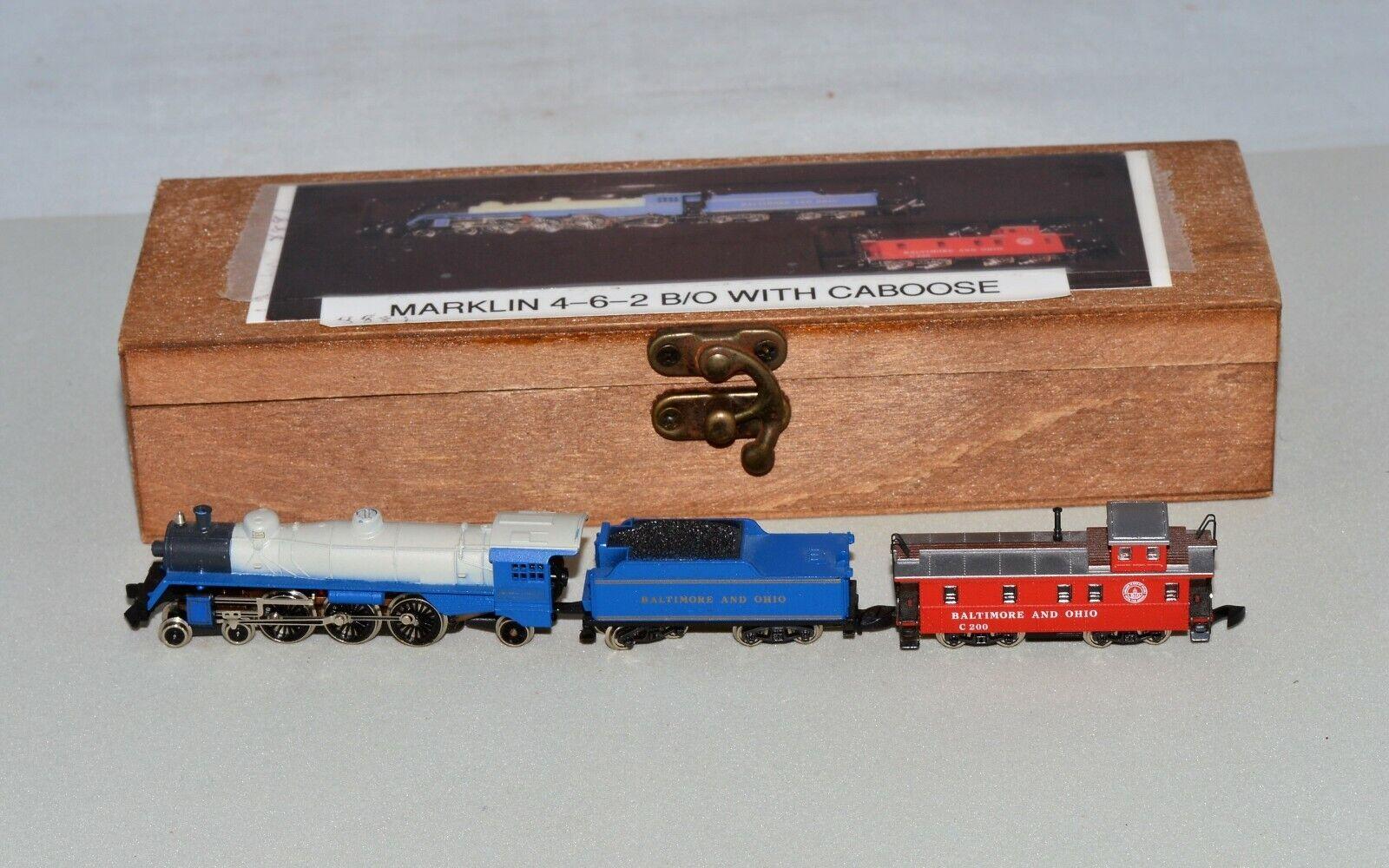 ZスケールのMarklin 8881太平洋4 - 6 - 2 B & O機関車と入札