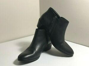 614c124c24fd Image is loading Sam-Edelman-Petty-Black-Leather-Ankle-Bootie-Boots-