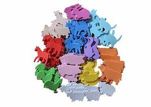 Foam-Shapes-110-Farmyard-Animals-Self-Adhesive-Craft-Sticker-Farm-Kids-Children