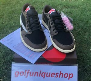 check out 272ff 0cdf9 Details about Travis Scott Air Jordan 1 Low Size 11 AJ1 CACTUS JACK  CQ4277-001 Air Jordan I