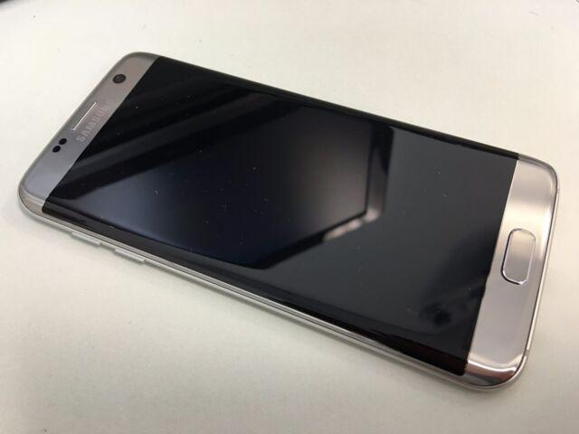 Samsung Galaxy S7 edge SM-G935U - 32GB - Silver Titanium (Factory Unlocked)