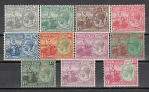 Trinidad-And-Tobago-Mail-Yvert-110-9-MH-George-V