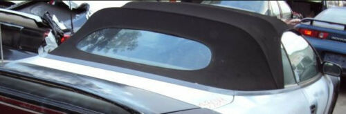 WITH BLACK TOP 1995-1999 MITSUBISHI ECLIPSE CONVERTIBLE TOP DO-IT-YOURSELF PKG