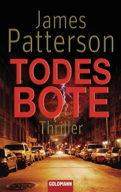 Todesbote James Patterson  Thriller Taschenbuch  ++Ungelesen++