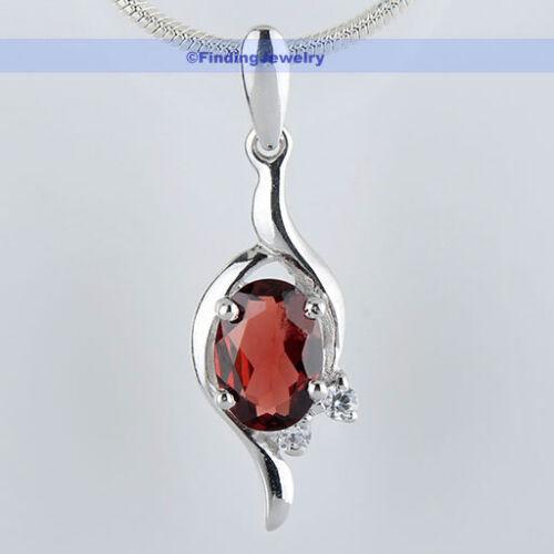 Natural Gemstone Amethyst//Peridot//Garnet 925 Sterling Silver Pendant