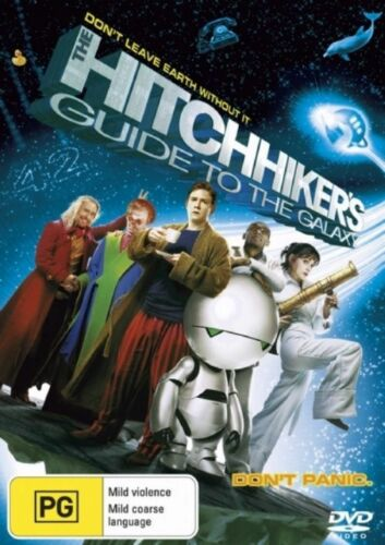 1 of 1 - The Hitchhiker's Guide To The Galaxy (DVD, 2005) R4 PAL NEW FREE POST