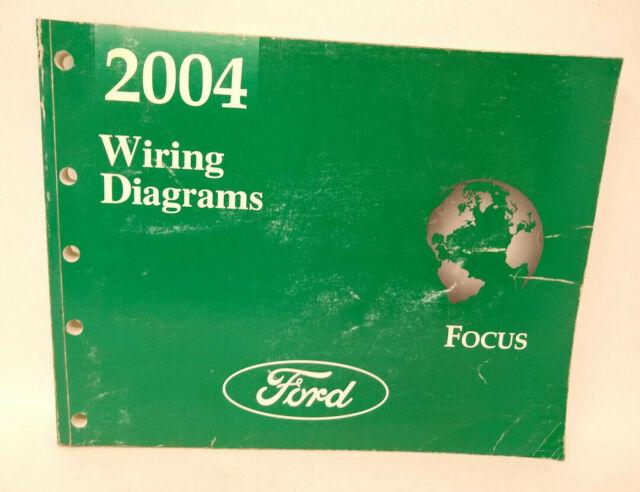 Oem 2004 Ford Focus Wiring Diagrams Manual