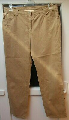 Pantaloni-jeans Brax Mary Glamour Mis. 48-w 38 L 32 Beige - - Merce Nuova-mostra Il Titolo Originale