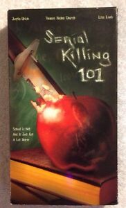 Serial-Killing-101-Prev-Viewed-VHS-2004-Justin-Urich-Lisa-Loeb-HORROR