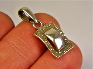 Old-vintage-Sterling-Silver-925-pendant-women-039-s-unique-authentic-jewelry-226s