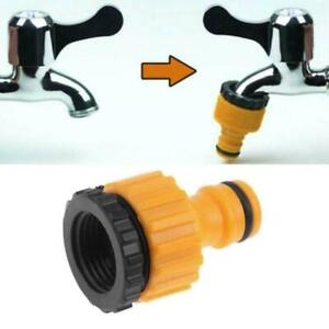 """ABS Garden Hose Water Pipe Connector Tube Fitting Tap 1//2/"""" Adapter New 3//4/"""" C4C5"""