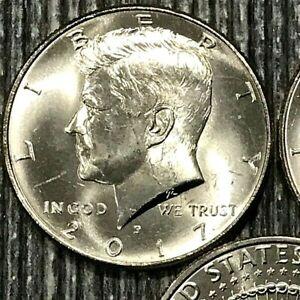 2017 P Kennedy Half Dollar ~ U.S Coin from Mint Roll