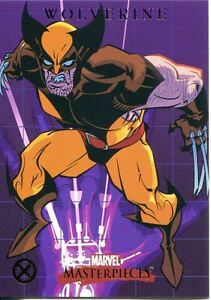 Marvel Masterpieces 2007 X-Men Chase Card X9 The Beast