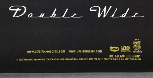 UNCLE KRACKER DOUBLE WIDE U.S PROMO POSTER Kid Rock DJ Rock Hip Hop 18X24 NOS
