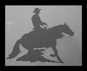 Airbrush-Schablone-A028-Cowboy