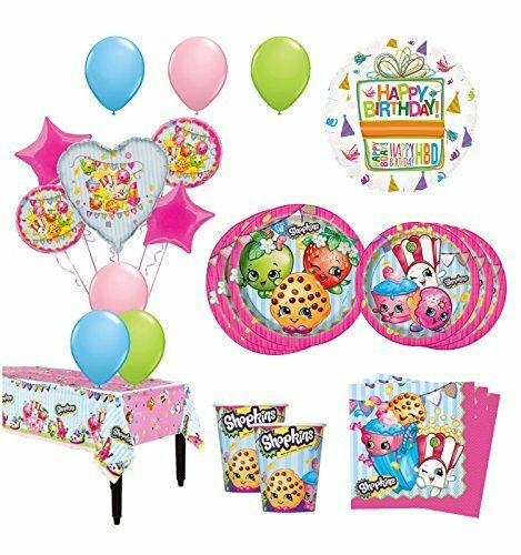 The Ultimate 16 Guest 94pc Shopkins Birthday Party Supplies