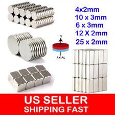 10 100pcs Super Strong Block Round Disc Magnets Rare Earth Neodymium Magnet N35