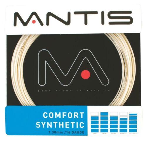 Mantis Comfort Synthetic 16 1.30mm Tennis String Set