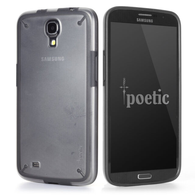 sale retailer 5f970 44069 Poetic Atmosphere Case for Samsung Galaxy Mega 6.3 Clear/Gray