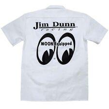 NHRA JIM DUNN Moon Equipped PIT Crew Shirt JOHN HALE Dickies T-Shirt Mooneyes