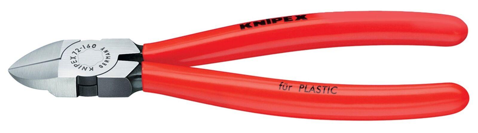 KNIPEX 72 01 180 Diagonal Flush Cutters