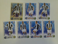 Set of 7 x Match Attax Extra Cards 2008 - 2009 West Bromwich Albion