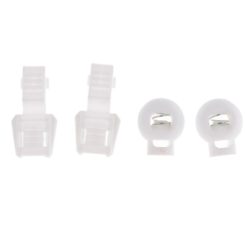 Schnellverschluss Schnellverschlusssystem für Schnürsenkel Sneaker Weiß 1
