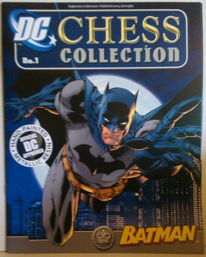 D.C. Chess Batman - complete set + extras