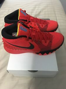 0ca669f46784 NIKE KYRIE 1 BRIGHT CRIMSON DECEPTIVE RED KYRIE IRVING 705277 606 ...