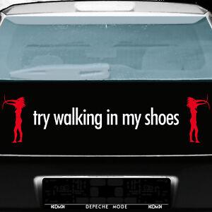 Depeche Mode Tour Motifs Set Black//Red Tattoo Sticker Car Rear Decor Film