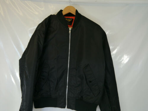 Jacket Pop Retro Black L Men's Style Bomber Bnwot wqwUT46
