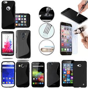 Coque-etui-Housse-Silicone-Verre-Trempe-Film-Protecteur-Ecran-Seri-Cell-Phone