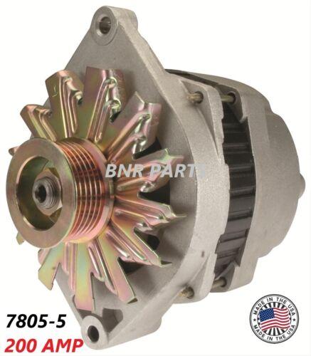 200 AMP 7805-5 ALTERNATOR Buick Regal Grand National New High Output 3.8L Turbo