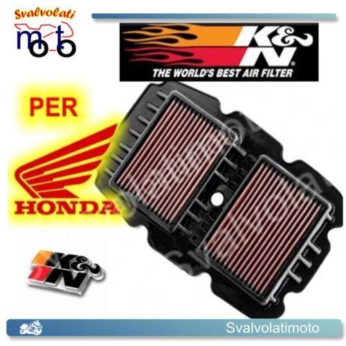 FILTRO ARIA SPORTIVO K/&N HONDA TRANSALP 700 ABS XL V 2011 2012  HA-7008