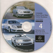 2009 Update for Mercedes CD Base Navigation Map #4 South Central TX OK AR LA MS