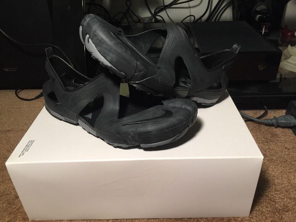 Nuove nike libera nero spaccatura sandalo acg sp nero libera blue marble numero 7 7e3666