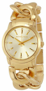 Michael-Kors-MK3608-Elena-Gold-Tone-Dial-Gold-Tone-Stainless-Women-039-s-Watch