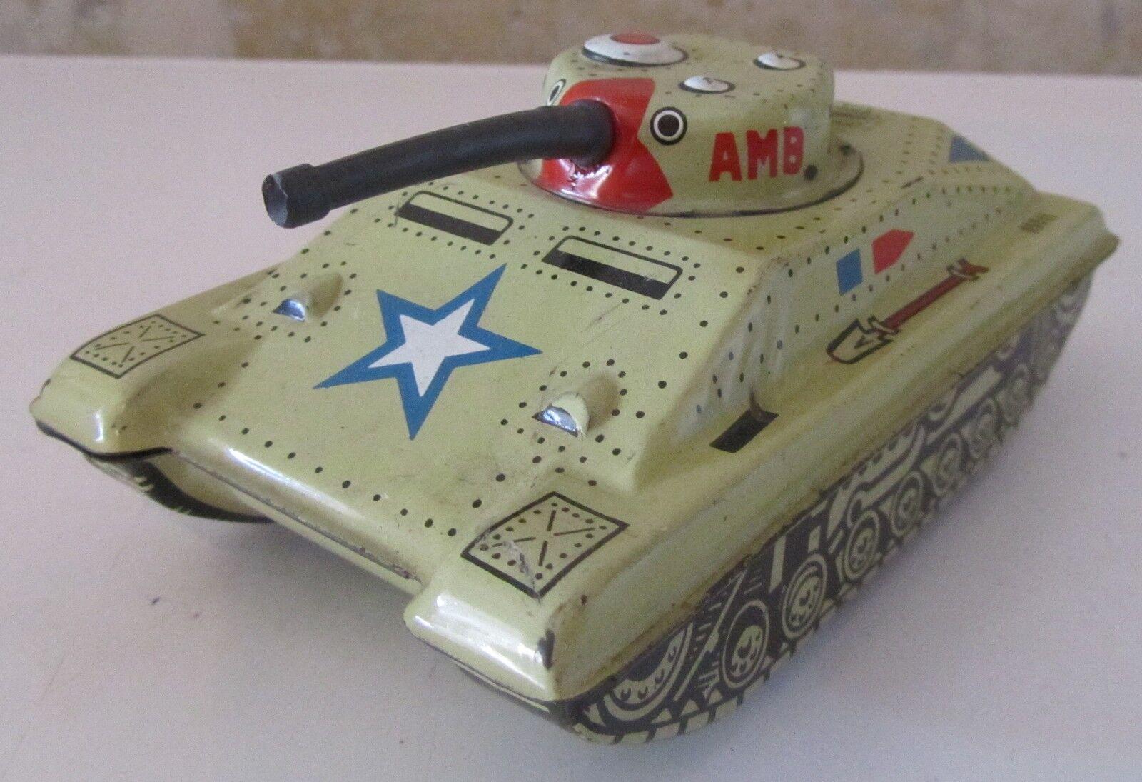 Modellino Marchesini Carro Armato Tank AMB latta tin toy SPESE GRATIS