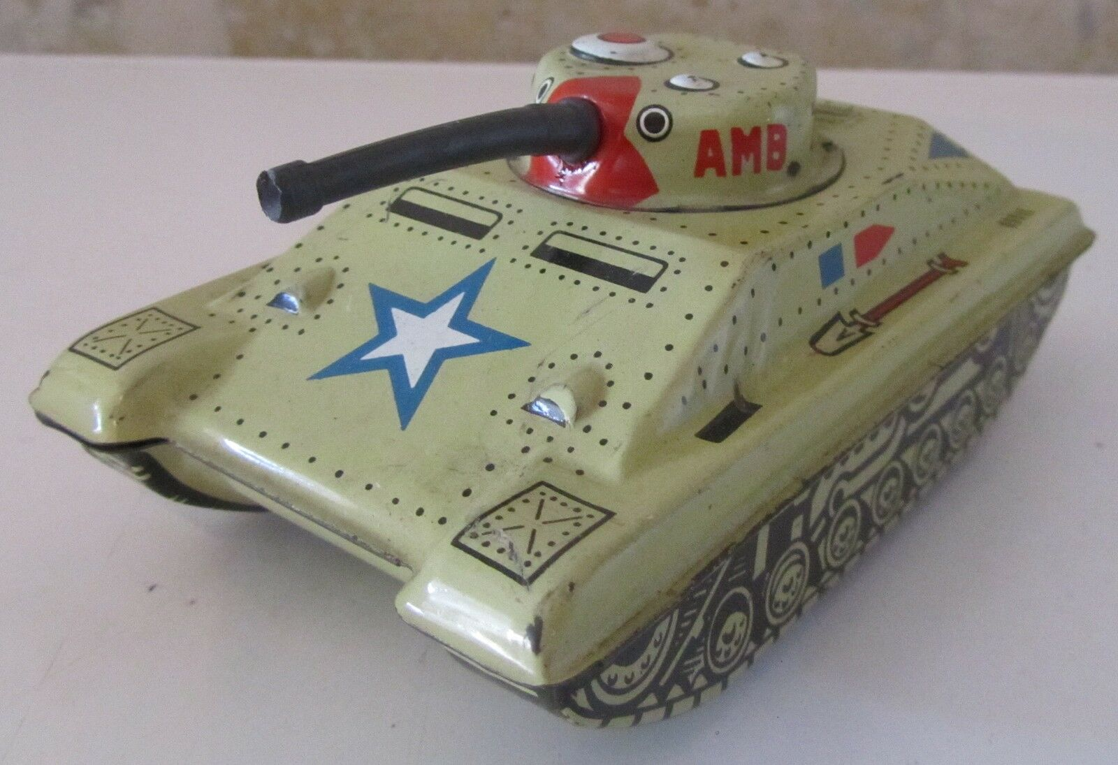 Model marchesini  Tank Tank AMB Tin Tin Toy Libre costs  80% de réduction