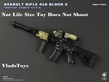Easy & Simple 1/6 HK416 Assault Rifle Block 3 Abbottabad  *Not Life Size* USA