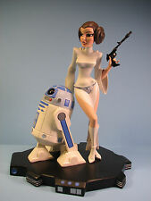 Brand New Gentle Giant's Star Wars Princess Leia & R2D2 Animated Maquette!