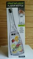 Prodyne Fruit Infusion Flavor Bottle For Water Juices Spirits Oils & More