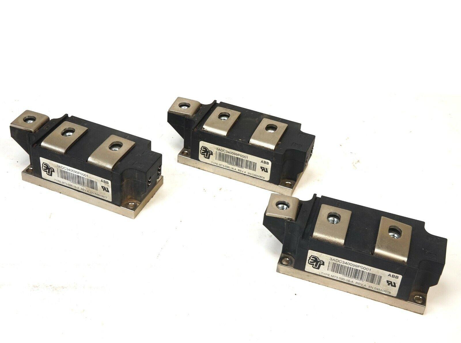 3 ABB MT3-595-16-A 3ADC340099P0001 MODULE