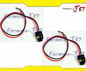 Extension-Wire-Pigtail-Female-P-9006-HB4-Two-Harness-Fog-Light-Socket-Plug-Lamp